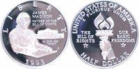 1/2 Dollar Silber 1993 U.S.A. James Madison PP Proof in Originalkapsel  11,00 EUR  +  6,00 EUR shipping