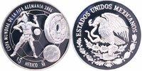 5 Pesos Silber 2006 Mexiko Fußball-WM 2006 in Deutschland PP Proof  30,00 EUR  +  6,00 EUR shipping