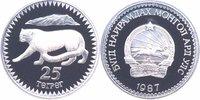 25 Tugrik Silber 1987 Mongolei Schneeleopard PP Proof in Kapsel  28,00 EUR  +  6,00 EUR shipping