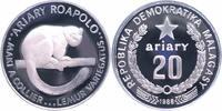 20 Ariary Silber 1988 Madagaskar 25 Jahre WWF, Vari - Lemur PP - Proof ... 20,00 EUR  +  6,00 EUR shipping