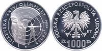 1000 Zlotych Silberprobe 1987 Polen Olympische Sommerspiele 1988, Bogen... 30,00 EUR  +  6,00 EUR shipping