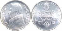 Vatikan 1000 Lire Silber Johannes Paul I.