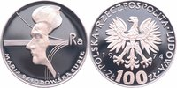 100 Zlotych Silber 1974 Polen Marie Curie PP - Proof  16,00 EUR  +  6,00 EUR shipping