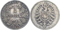  1 Mark 1882 H sch&ouml;n, selten  57,00 EUR 