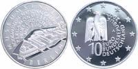 10 Euro 2002 Bundesrepublik Deutschland Museumsinsel Berlin Spiegelglan... 28,00 EUR  +  6,00 EUR shipping