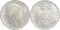 W&uuml;rttemberg 2 Mark 1912 F fast stempelglanz Wilhelm 1891-1918 79,00 EUR 