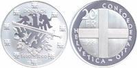 20 Franken Silber 1999 Schweiz 500 Jahre Schlacht bei Dornach PP Proof ... 39,00 EUR  +  10,00 EUR shipping