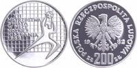 200 Zlotych 1982 Polen Fußball-WM 1982 in Spanien PP-Proof in Kapsel  12,00 EUR  +  6,00 EUR shipping