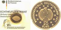Deutschland 20 Euro GOLD 2011 G ST, OVP + Zetifikat Deutscher Wald, Buche 239,00 EUR 