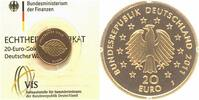 Deutschland 20 Euro GOLD 2011 J ST, OVP + Zetifikat Deutscher Wald, Buche 239,00 EUR 