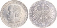 BRD 5 Mark 1957 J vorz&uuml;glich + Joseph Freiherr von Eichendorff 235,00 EUR 