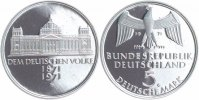 BRD 5 Mark 1971 G PP in M&uuml;nzr&auml;hmchen Reichsgr&uuml;ndung 10,00 EUR 