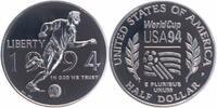 1/2 Dollar 1994 U.S.A. Fußball-WM PP Proof in Original-Kapsel  7,00 EUR  +  6,00 EUR shipping