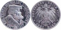 3 Mark 1917 Sachsen Friedrich der Weise, Nachprägung 1991 PP Proof  35,00 EUR  +  6,00 EUR shipping