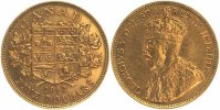 Kanada 5 Dollars GOLD 1912 fast vorz&uuml;glich GeorgV. 1910-1936 479,00 EUR 