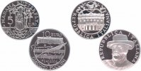 Italien 5 + 10 Euro Silber 2004 PP Proof in Kapseln mit Originalzertifik... 59,00 EUR 