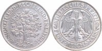 Weimarer Republik 5 Reichsmark 1928 D pr&auml;gefrisch-stempelglanz, Prachtst... 239,00 EUR 