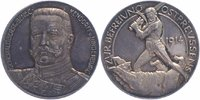 Hindenburg, 1. Weltkrieg Silbermedaille (Lauer, N&uuml;rnberg) 1914 PP-, herr... 89,00 EUR 