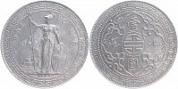 Gro&szlig;britannien Dollar 1897 fast vorz&uuml;glich Handelsdollar, Orient 64,00 EUR 