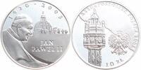 10 Zloty Silber 2005 Polen Papst Johannes Paul II. PP - Proof in Kapsel  19,00 EUR  +  6,00 EUR shipping