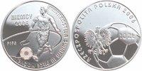 10 Zloty Silber 2006 Polen Fußball-WM in Deutschland PP - Proof  18,00 EUR  +  6,00 EUR shipping