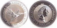 2 $, 2 Silberunzen 1996 Australien Kookaburra Stempelglanz im Originalb... 64,00 EUR