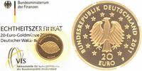 Deutschland 20 Euro GOLD 2011 F ST, OVP + Zetifikat Deutscher Wald, Buche 239,00 EUR 