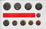 12,68 Mark 1995 D BRD Kursmünzensatz 1a stempelglanz OVP  69,00 EUR  +  10,00 EUR shipping