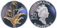 Kanada 50 Cents Silber teilvergoldet 2002 PP + Zertifikat + Box + Umverp... 49,00 EUR 