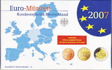 Deutschland  5,88 Euro 2007 A Spiegelglanz PP OVP Kursm&uuml;nzensatz 2007 Sp... 20,00 EUR 