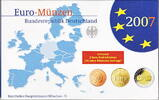 Deutschland  5,88 Euro 2007 D Spiegelglanz PP OVP Kursm&uuml;nzensatz 2007 Sp... 18,00 EUR 