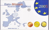 Deutschland  3,88 Euro 2005 A Spiegelglanz PP OVP Kursm&uuml;nzensatz 2005 Sp... 12,00 EUR 