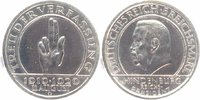 Weimarer Republik 5 Reichsmark 1929 G gutes sehr sch&ouml;n-vorz&uuml;glich Schwur... 179,00 EUR 
