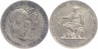 &Ouml;sterreich Habsburg Doppelgulden Silberhochzeit 1879 fast vorz&uuml;glich Fra... 69,00 EUR 