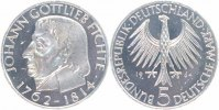 BRD 5 Mark 1964 J vorz&uuml;glich Johann Gottlieb Fichte 32,00 EUR 