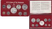 """1 Cent - 5 Dollars 1972 Bahamas """"Kursmünzensatz 1972"""" Stempel... 85,00 EUR"""
