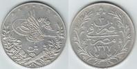 20 Qirsh Silber 1327 / 1913 Ägypten Muhammad V. 1909-1914 sehr schön-vo... 89,00 EUR