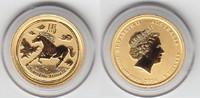 5 Dollars GOLD 2014 Australien LUNAR II, Pferd, 1/20 Unze 9999 Feingold... 77,00 EUR  +  10,00 EUR shipping