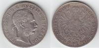 2 Gulden 1881 RDR Habsburg Franz Joseph I. 1848-1916 fast vorzüglich / ... 159,00 EUR