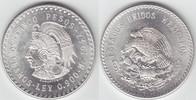 """5 Pesos Silber 1947 Mexiko """"Cuauhtemoc"""" gutes vorzüglich-stem... 35,00 EUR"""