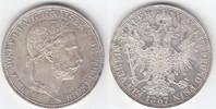 1 Vereinstaler 1867 A RDR Habsburg Franz Joseph I. 1848-1916 gutes vorz... 199,00 EUR  +  10,00 EUR shipping