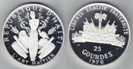 25 Gourdes Silber 1970 Haiti Kunst /Kunsthandwerk von Haiti PP, Proof  169,00 EUR  +  10,00 EUR shipping