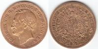 10 Mark GOLD 1873 E Sachsen Johann 1854-1873 sehr schön, kl.Kr.  249,00 EUR