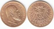 10 Mark GOLD 1898 F Württemberg Wilhelm 1891-1918 winz. Kr., vorzüglich  249,00 EUR