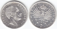 1 Lira Silber 1907 R Italien Victor Emanuel III. 1900-1946 gutes vorzüg... 79,00 EUR