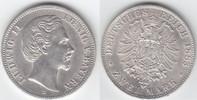 2 Mark 1883 D Bayern Ludwig II. 1864-1886 vorzüglich, selten!  499,00 EUR  +  10,00 EUR shipping