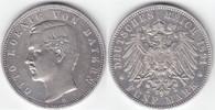5 Mark 1891 D Bayern Otto 1886-1913 ordentliches sehr schön +  79,00 EUR