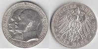 5 Mark 1904 Hessen zum 400. Geburtstag Randkerbe + kl. RF, sehr schön  109,00 EUR  +  10,00 EUR shipping
