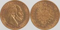20 Mark GOLD 1887 A Preußen Wilhelm I. 1861-1888 sehr schön-vorzüglich ... 299,00 EUR