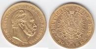 20 Mark GOLD 1882 A Preußen Wilhelm I. 1861-1888 sehr schön-vorzüglich  379,00 EUR  +  10,00 EUR shipping